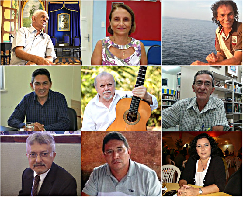 Os atuais 40 imortais da Academia de Letras e Artes de Santarém, Imortais de Santarém