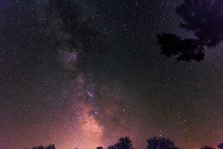 July night sky