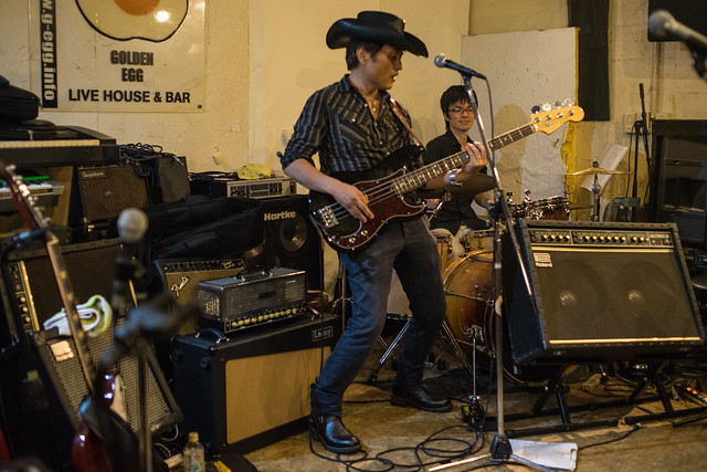 Johnny Winter Tribute Festival 7 - 鈴木Johnny隆バンド live at Golden Egg, Tokyo, 16 Jul 2017 -7M2-00293