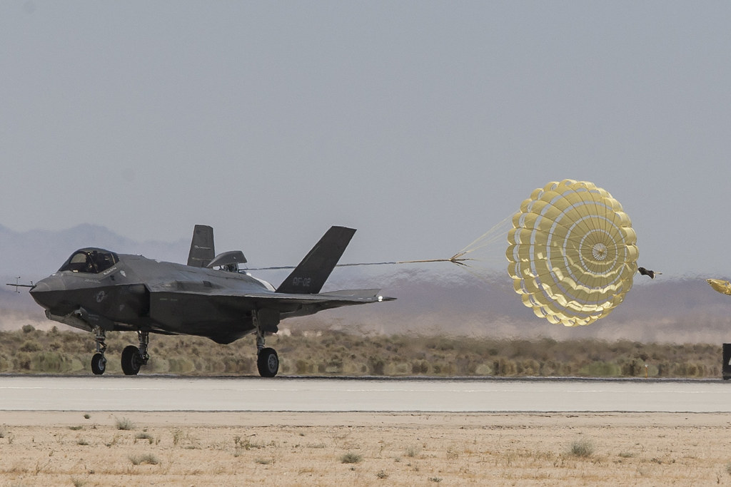 F-35A Norway Chute Test