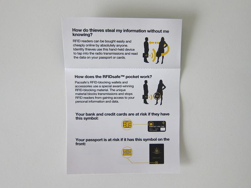 Pacsafe Venturesafe 325 GII - RFIDsafe