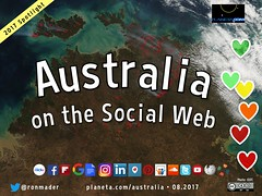 Australia on the Social Web 08.2017