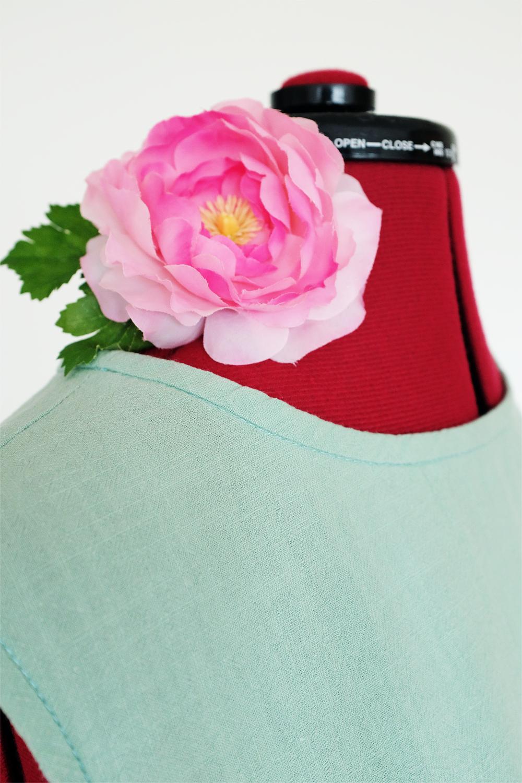 marchewkowa, blog, szycie, sewing, rękodzieło, handmade, moda, styl, vintage, retro, repro, 1950s, 1960s, Wrocław szyje, w starym stylu, shift dress, mint green crushed cotton,