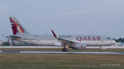 Qatar A320-214 A7-LAB