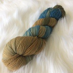 Hand dyed yarn by me