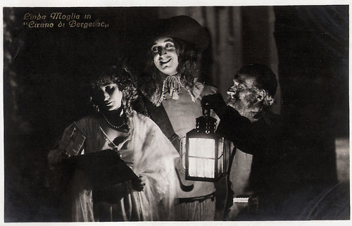 Linda Moglia and Pierre Magnier in Cirano di Bergerac (1923)