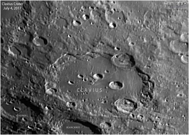 A View of Clavius Crater