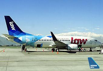 LAW B737-300 CC-ARQ remoto (RD)