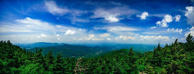 View from Calloway Peak