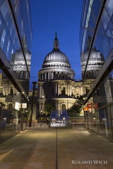 London - St Paul's Cathedral from One New Change