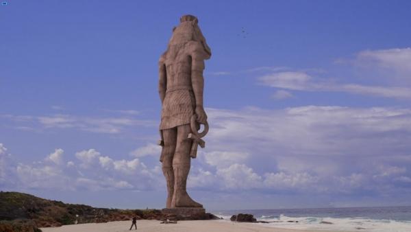 La grande statue de l'île de Lost . 36092463922_ab600415c2_o