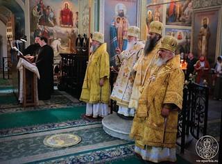 Литургия в Иверском монастыре 120