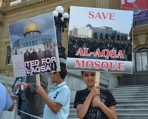 Al-Aqsa Mosque Rally