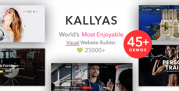 KALLYAS v4.15.2 – Responsive Multi-Purpose WordPress Theme