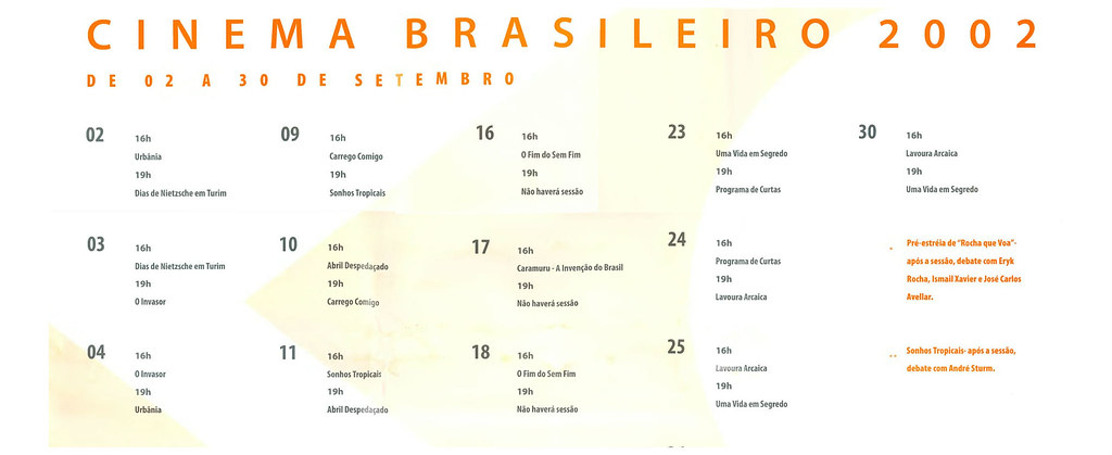 Cinema Brasileiro 2002