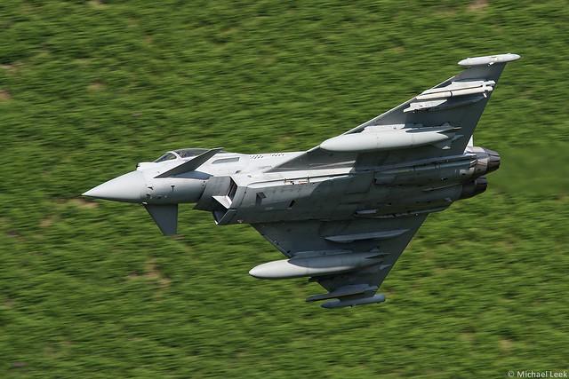 RAF Eurofighter Typhoon FGR4 ZJ912/AB, 17 (R) Squadron, RAF Coningsby