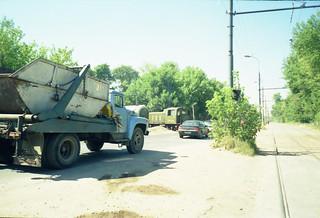 TGK-2 shunter, Moscow Sintez factory, Ugreshkaya station 2002