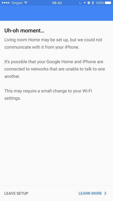 Google Home iOS App - Setup #9