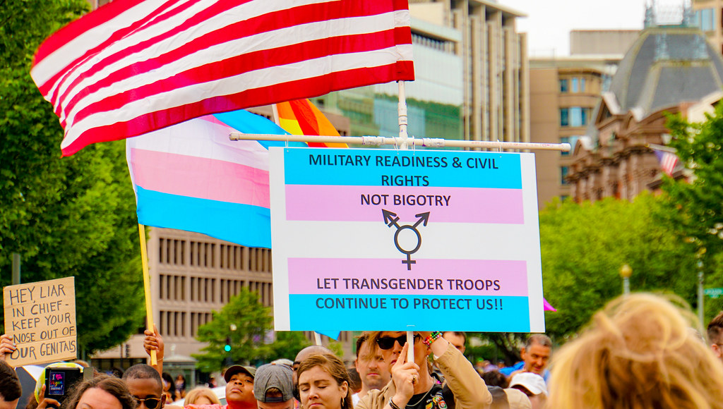 2017.07.29 Stop Transgender Military Ban, Washington, DC USA 7711