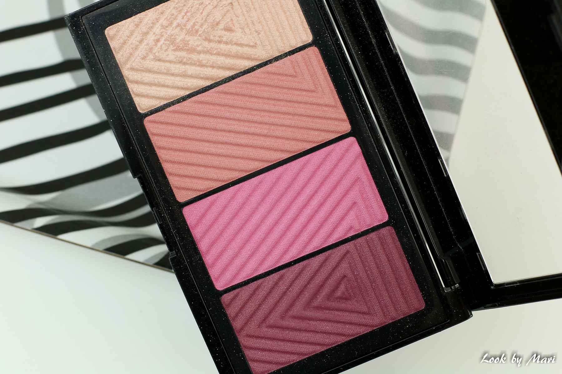 5 maybelline masterblush color & highlighting kit palette review shades swatches