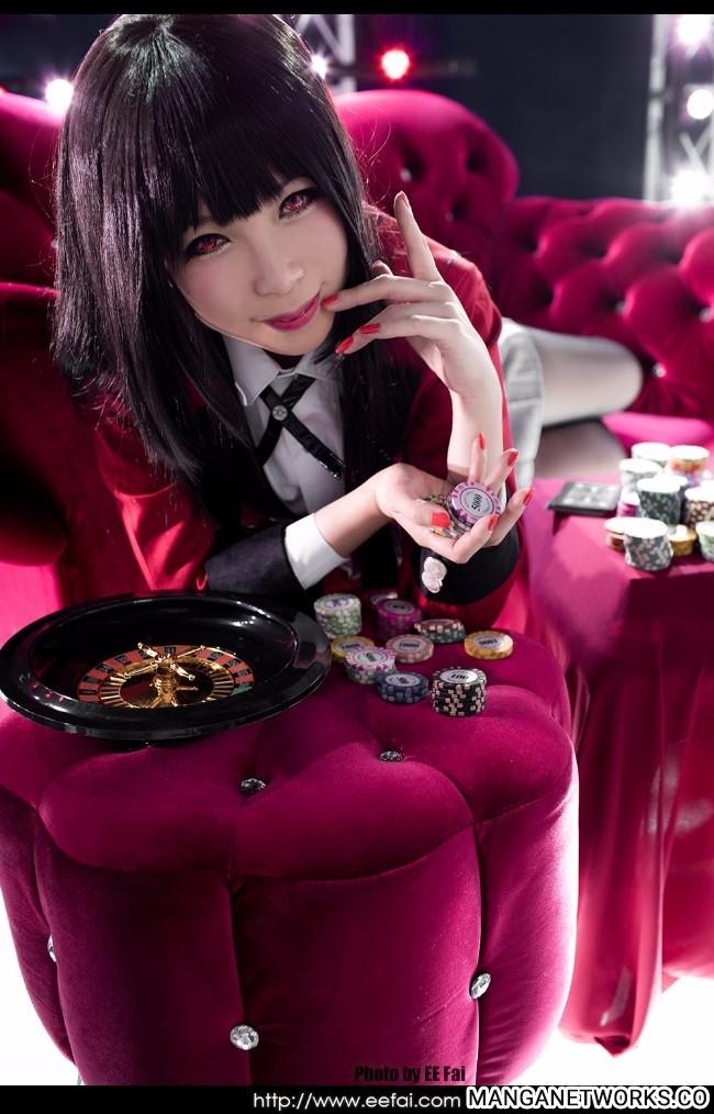 36297638635 c33d4f0086 o Gục ngã trước những hình ảnh Cosplay Yumeko Jabami siêu quyến rũ của Aki