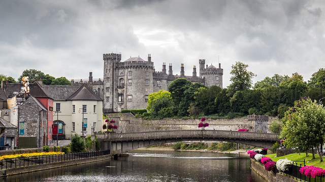 Ireland - Kilkenny - Castle and Nore river