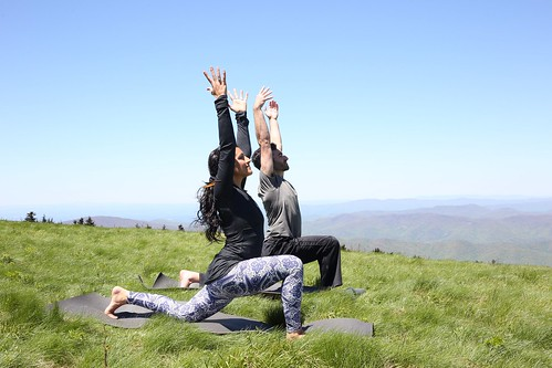 Yoga Retreat In The Mountains
