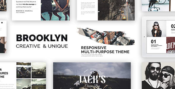 Brooklyn v4.5.2 – Responsive Multi-Purpose WordPress Theme
