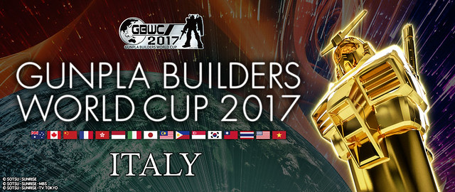 Gunpla Builders World Cup 2017 - Italy:Open subscriptions