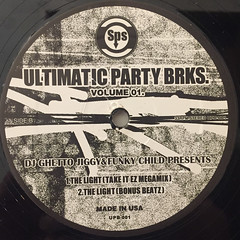 DJ GHETTO JIGGY & FUNKY CHILD PRESENTS:ULTIMATIC PARTY BRKS. VOLUME 01(LABEL SIDE-B)