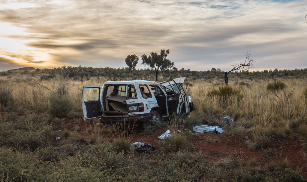 Photography: Trashed Cars Of The Northern Territory - Castaway with Crystal
