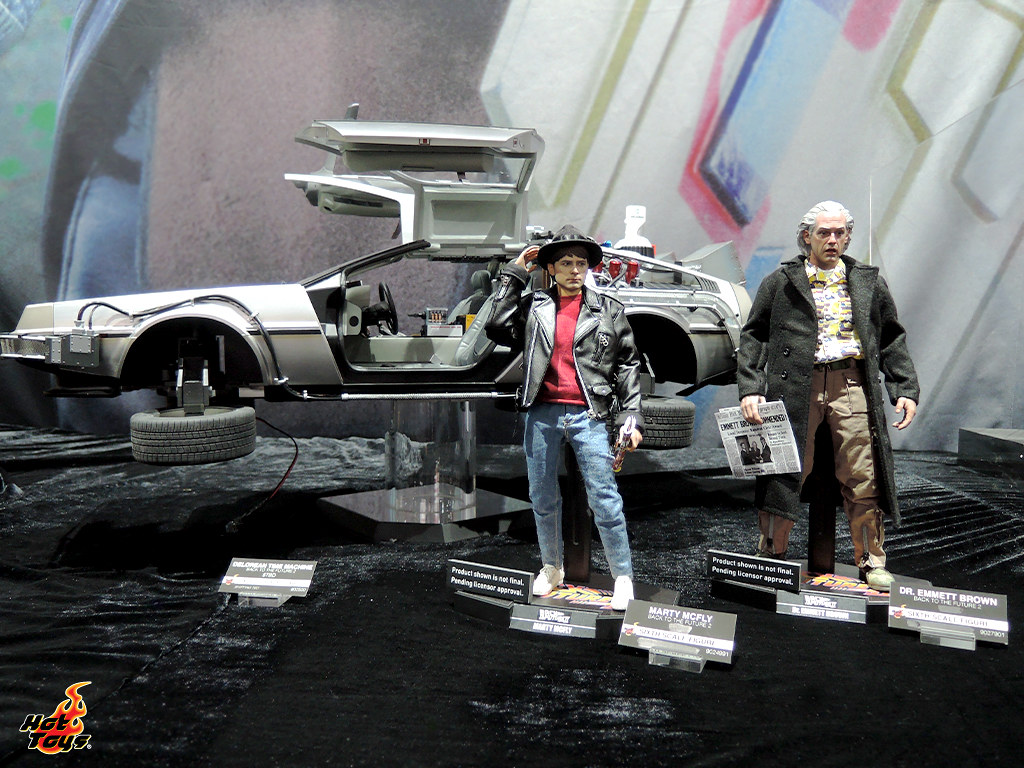 Hot Toys 公開了大量SDCC 展品的清晰圖片