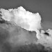 Clouds at Sunset (in b&w) II por Carl Campbell