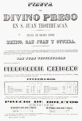 "Ferrocarril Mexicano - ""Festival of the Divine Prisoner"" / Start of Tourism to Pyramids (1872)"