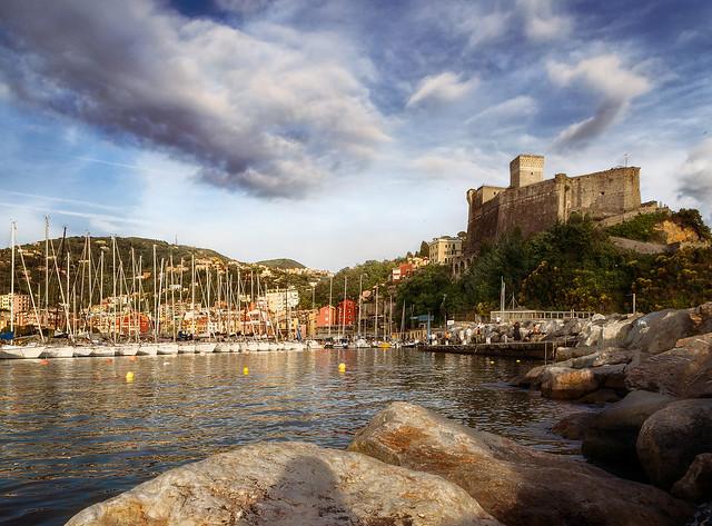 Im Hafen von Lerici