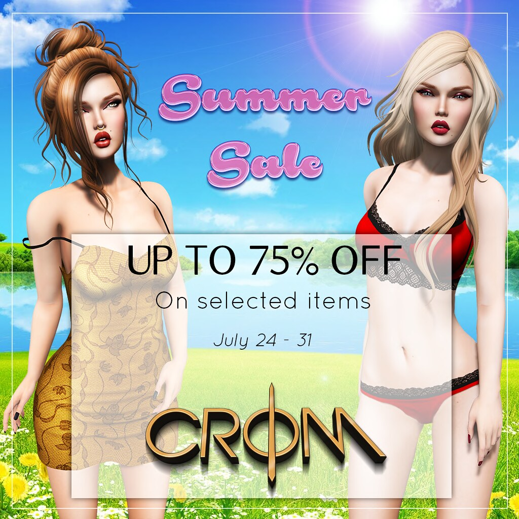 -CroM-   ***  SUMMER SALE *** - SecondLifeHub.com
