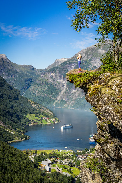 A typical view in Norway