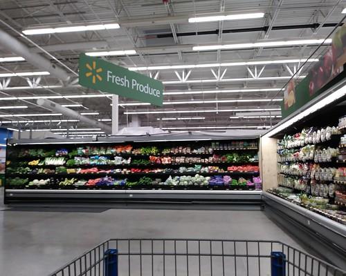 walmart supercenter murdock store portcharlotte fl florida remodel produce grocery