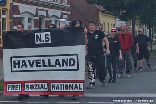 2017.07.29 Rathenow N.S Havelland Spontanaufmarsch (2)