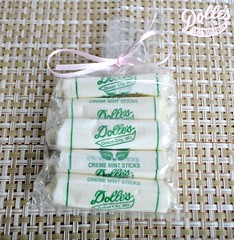 Long sized Mint Taffy bag
