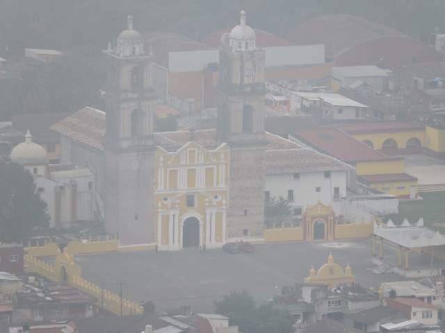 Tlatlauquitepec desde las alturas del cerro cabezón.