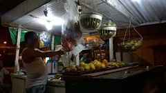 Juice vendor in Montería