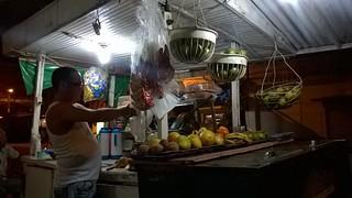 Juice vendor in Montería