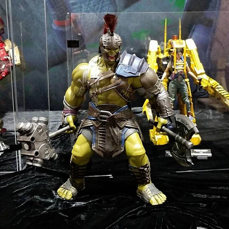 Thor Ragnarok Hot Toys HULK SDCC2017