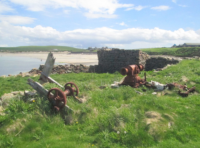 House Ruin, Bay of Skaill, Orkney