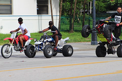 wheelie down biscayne Blvd