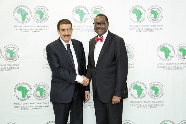 Meeting with the President of the Islamic Development Bank (IsDB), July 11th, 2017