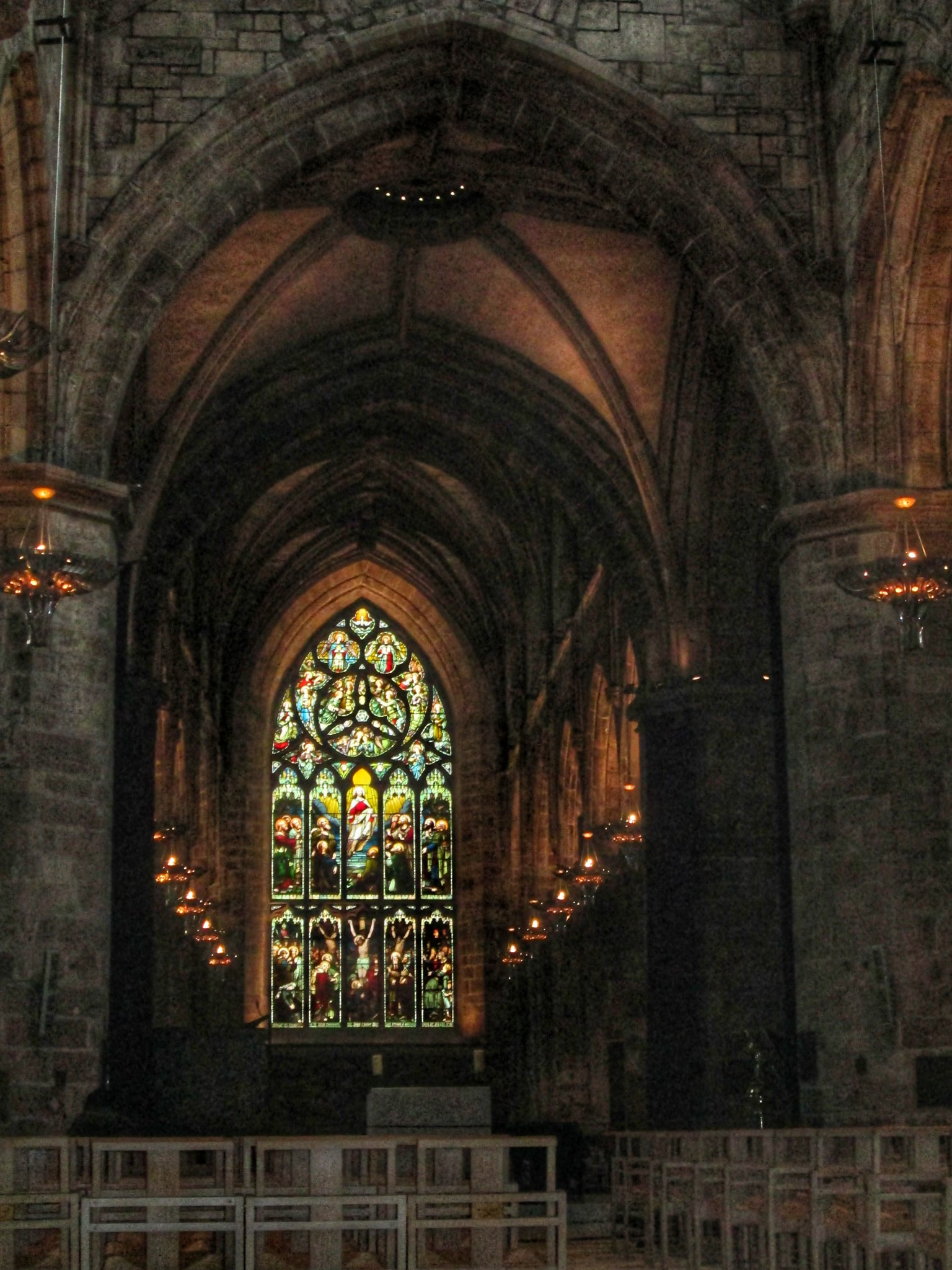 st Giles Cathedral Interior Stained Glass