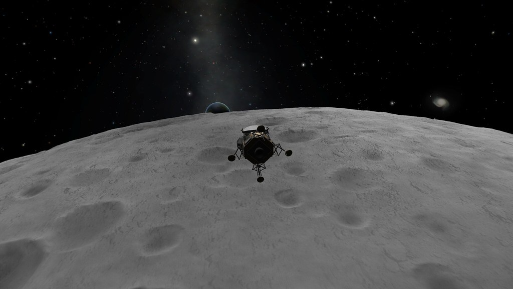 "Original ""Kerbin-rise"" before PS"