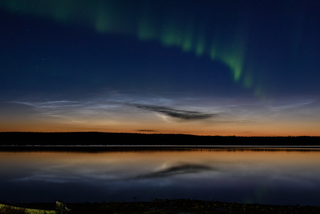 noctilucent cloud and aurora TED_8237